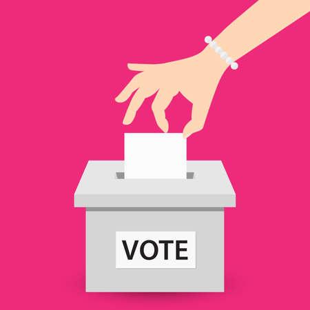voter: Voting concept
