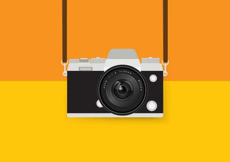 retro: retro camera Illustration