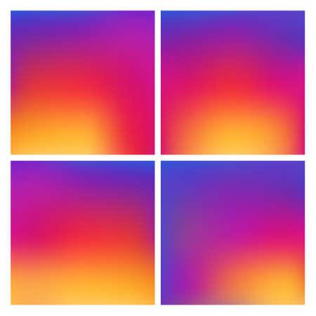 Kleurrijke gradient kleur Achtergrond Stock Illustratie