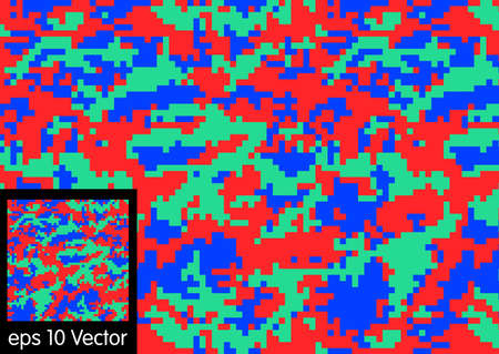 conceal: Camouflage pattern, vector