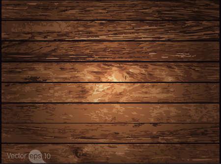 Textura de madera. Vector Ilustración de vector