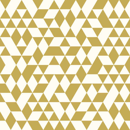 pattern of geometric shapes: Seamless Golden Pattern of geometric shapes