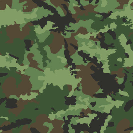 acu: Seamless, Camouflage pattern vector Illustration