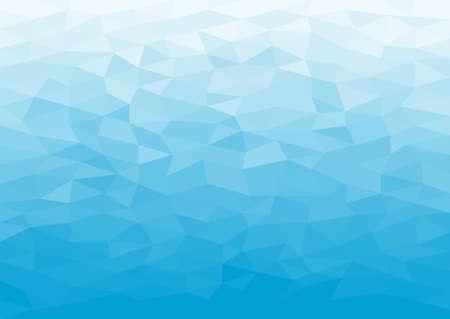 Antecedentes de hielo poligonal mosaico