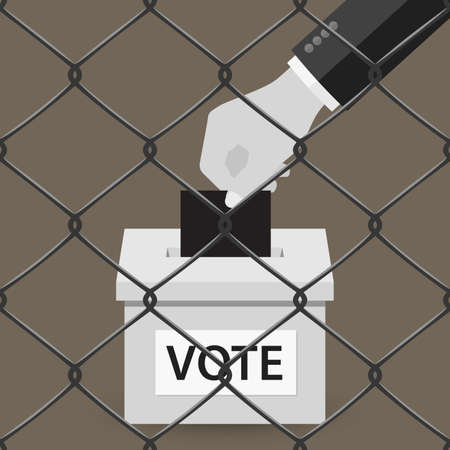 classified: Voting concept. Illustration