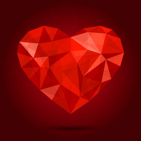crystal background: love diamond