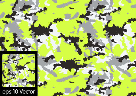 color conceal: Camouflage pattern, vector