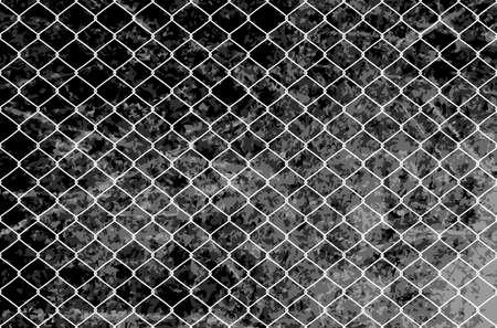 Metal wire mesh Ilustração
