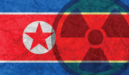 북한 핵 실험, 핵 실험, 핵 실험 일러스트
