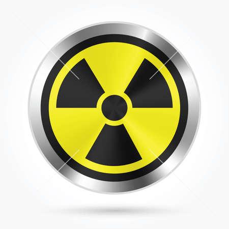 nuclear icon Vector illustration.