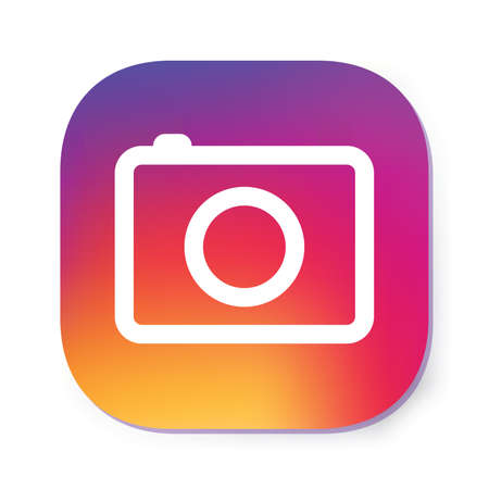 Icona della fotocamera Illustrazione vettoriale. Archivio Fotografico - 89106652