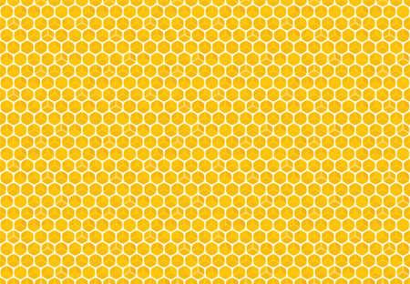 A Seamless Honeycomb background texture