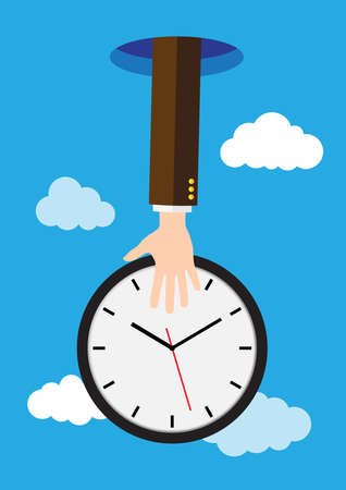 Save time concept Illustration