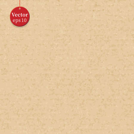 Seamless cardboard background texture. Vector