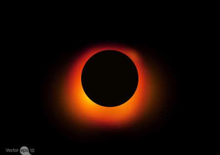 Illustration du trou noir