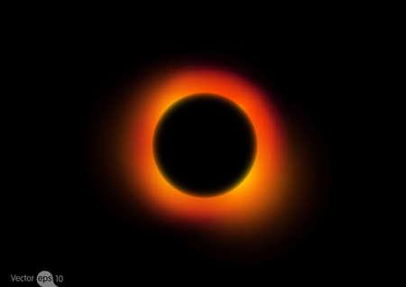 Schwarzes Loch Abbildung