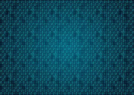 Digital binary code background Archivio Fotografico - 121934293