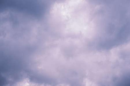 Dark Storm clouds sky background Archivio Fotografico - 127492768