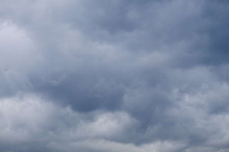 Dark Storm clouds sky background Archivio Fotografico - 127492856