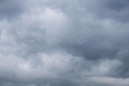 Dark Storm clouds sky background Archivio Fotografico - 127492859