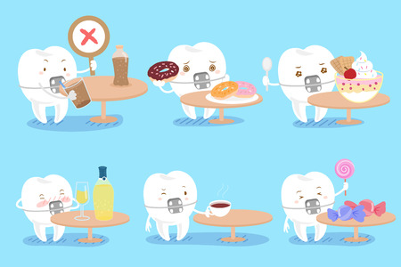csrtoon tooth wear braces with decay problem