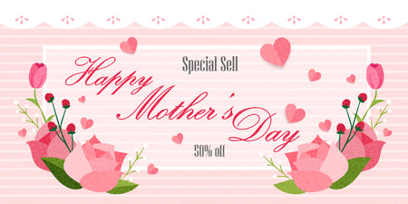 50% special price for happy mothers day
