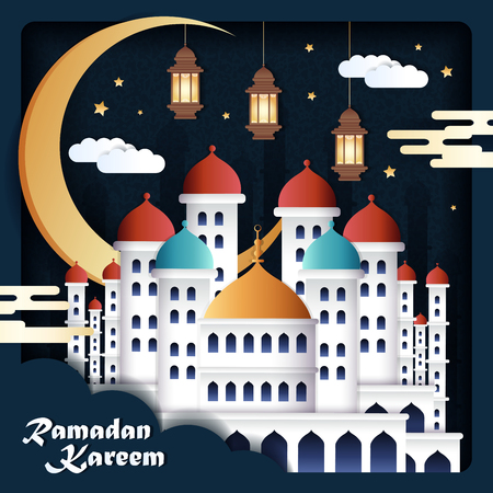 Ramadan Kareem greeting design
