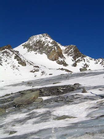 In the area of Glacier de Chaviere