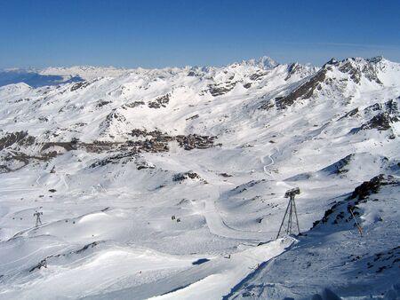 Skiresort Val Thorens in France