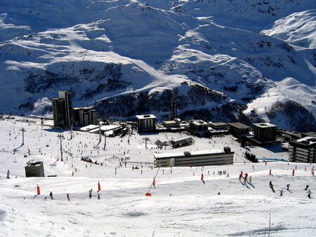 Skiing in Les Menuires