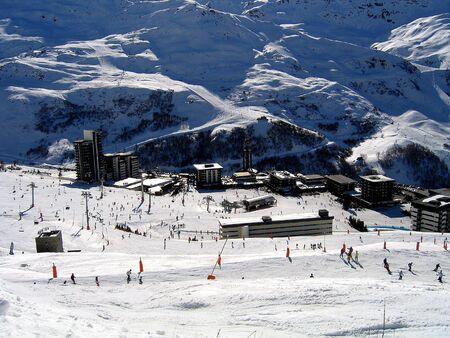 Skiing in Les Menuires