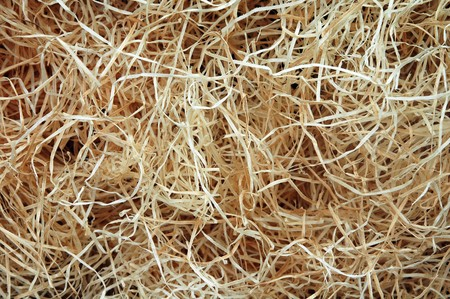 wood wool background