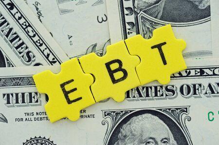 financial ratios, EBT = Earnings before Taxes
