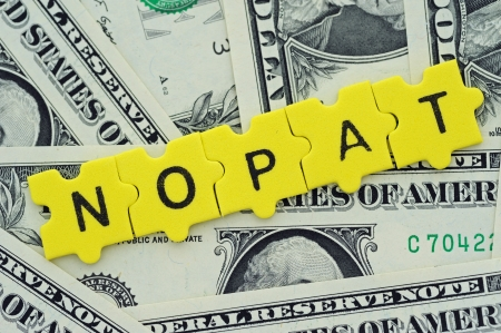 financial ratios, NOPAT = Net Operating Profit after Taxes