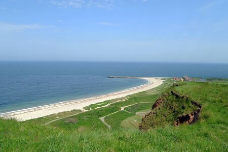 helgoland: Coast of Helgoland, a german island in the North Sea Stock Photo