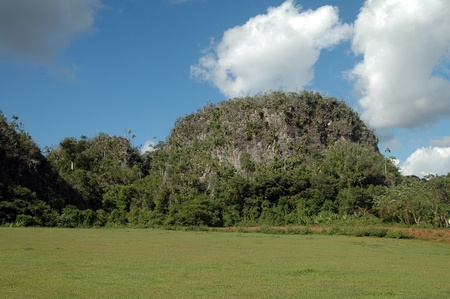 Valle Vinales, Mogote, Moutain of limestone