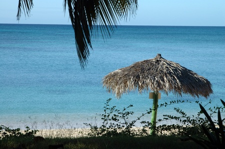 beach of Playa Ancon, Trinidad, cuba photo