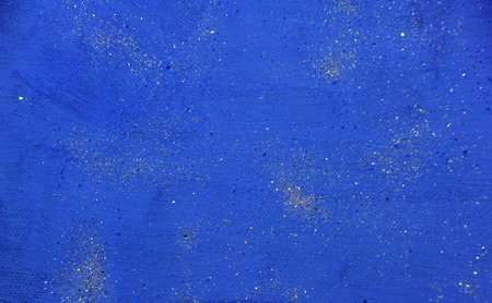 blue background acrylic painting with shiny effects