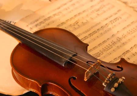 Classic violin Stock Photo