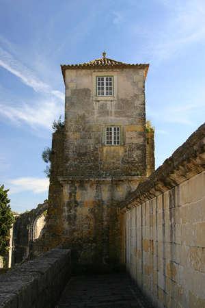 templars: Ancient Tower Stock Photo