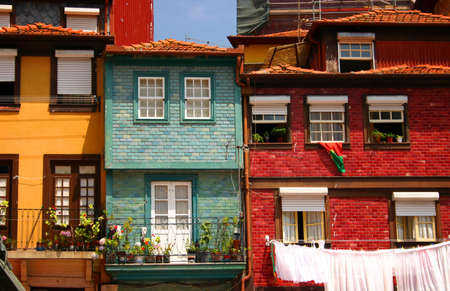 porto: Oporto houses Stock Photo
