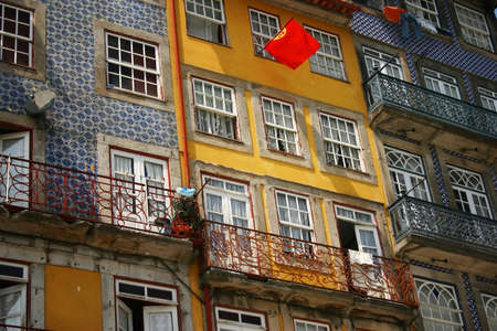 oporto: Oporto houses Stock Photo