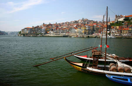 oporto: Oporto, Portugal - river view