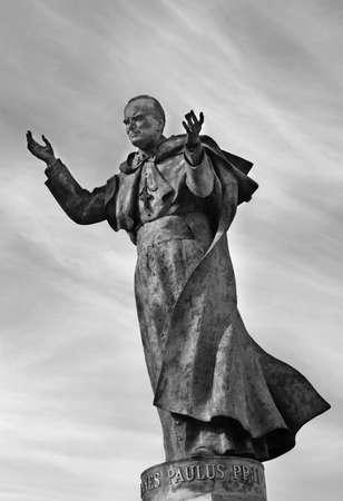Statue of Pope John Paul II Stock Photo - 3659658