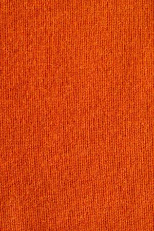 Textile background - orange wool