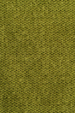 Textile background - green wool