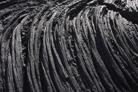 Lava in Hawaii photo