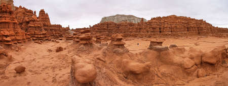 sedimentary: Goblin Valley State Park, central Utah, USA