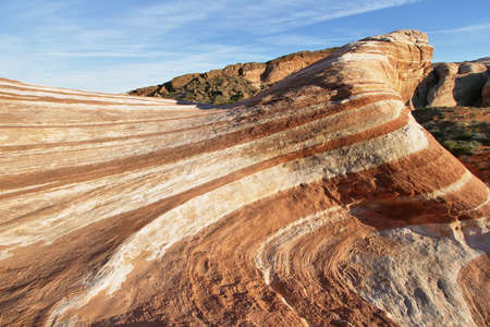 iron oxide: The Wave - Valley of Fire State Park