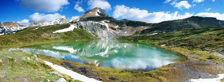banff national park: Lake Agnes, Banff national park Stock Photo